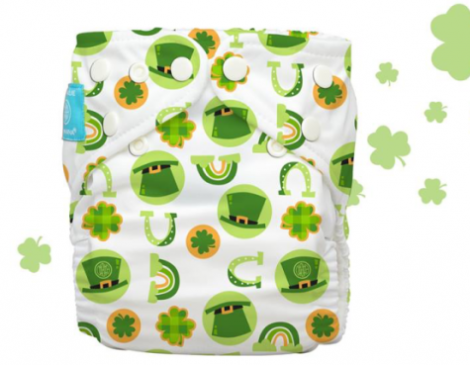 Charlie Banana One-Size Irish Charm Print
