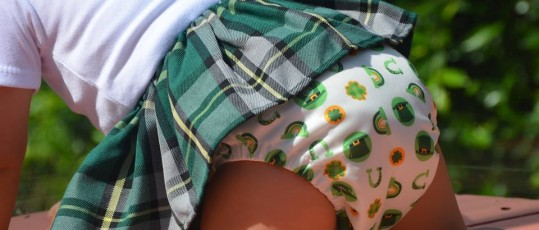 cloth nappies leaving red marks?