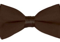 Boys Brown Chocolate Bow Tie Ireland