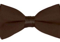 Boys Brown Chocolate Bow Tie Ireland